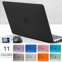 crystal case for macbook air 13 2020 pro 16 2019 2018 11 retina 12 15 2016 laptop case shell cover