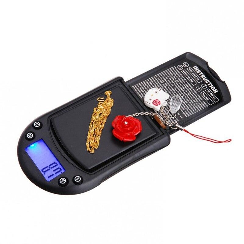 Báscula de Palma de Oro de 200g/0,01g, báscula de bolsillo para joyería, minibáscula electrónica