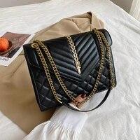 2021 luxury brand designer bags color female shoulder bag lady chains leather messenger party handbags for women large crossbody