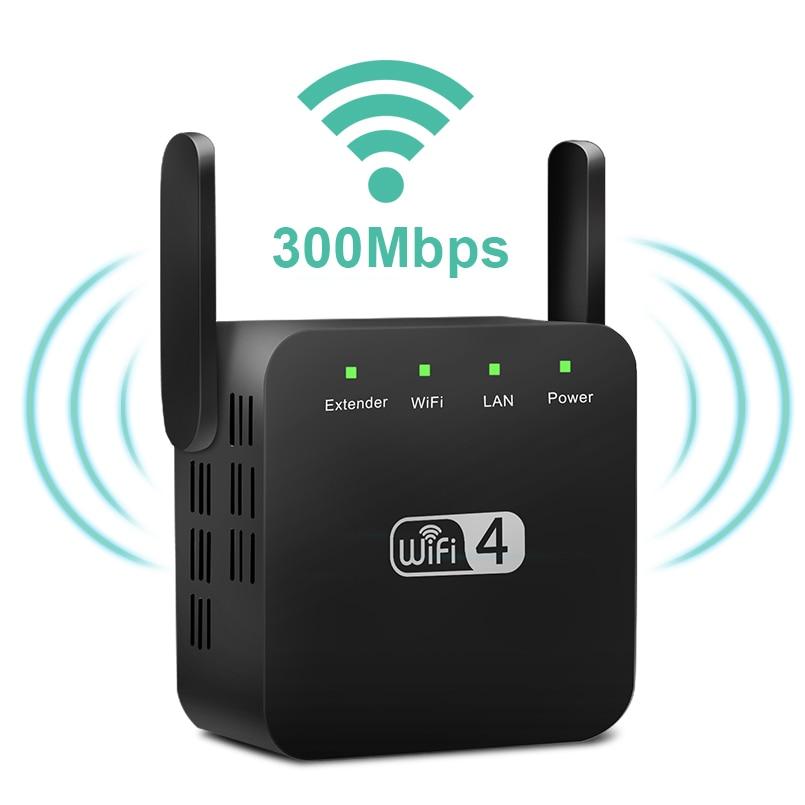 Wireless WiFi Repeater Wifi Extender 300Mbps Wi-Fi Amplifier Long Range Wifi Signal Booster Ultraboost Long Range Wifi Repiter