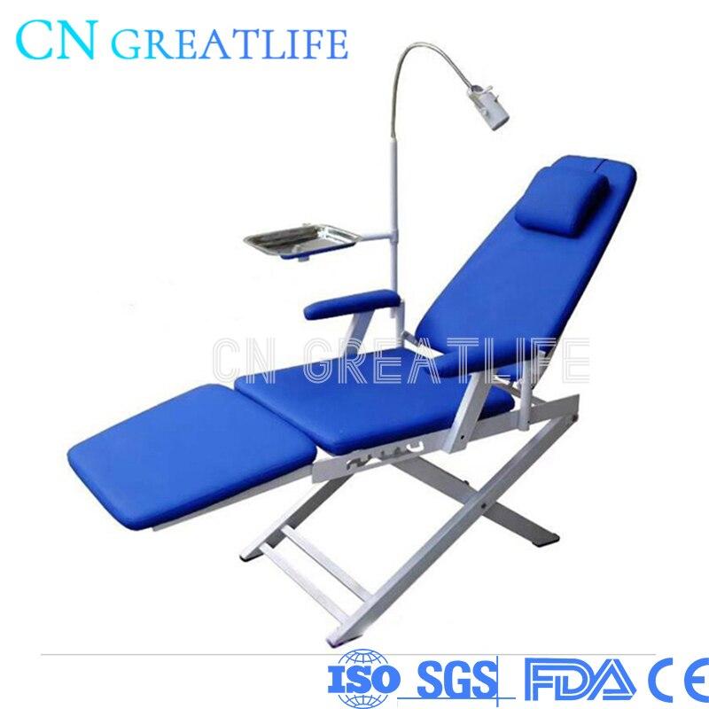 رخيصة المعدات السريرية Led مصباح للطي كرسي أسنان متحرك