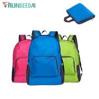Спортивный складной рюкзак Runseeda, водонепроницаемый легкий рюкзак для велоспорта, кемпинга, походов, повседневная дорожная нейлоновая сумк...