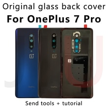 For OnePlus 7 Pro,100% Original Battery Glass Back Cover Replace the back case for oneplus7pro New R