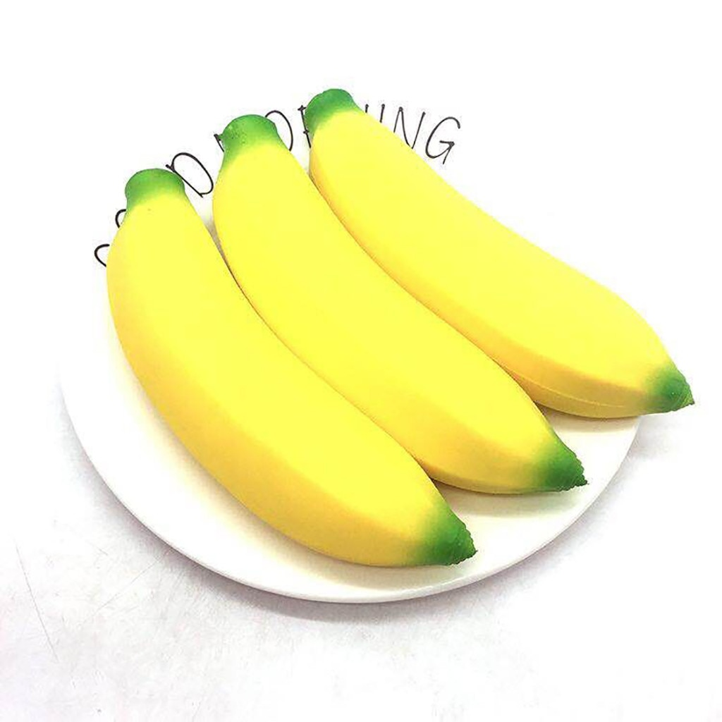 Squishy Jumbo Banana Stress Reliever Scented Super Slow Rising Kids Squeeze Toy Big Size Antistress Squish Funny Kids Toys Gift enlarge