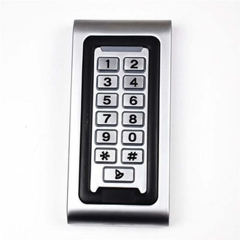 Stainless steel community electronic waterproof smart touch metal access control machine
