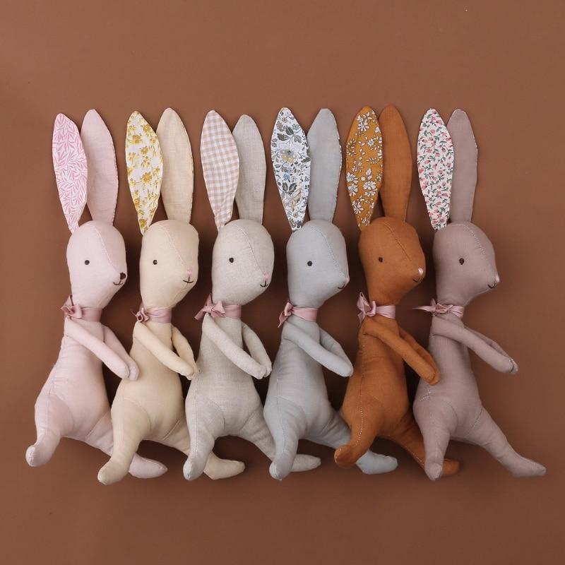 AliExpress - Baby kawaii Bunny Plush Rabbit Dolls Soft Newborn Sleeping Plush Toy Baby Appease Toy Rabbit Easter Gift Stuffed Toys For Girls