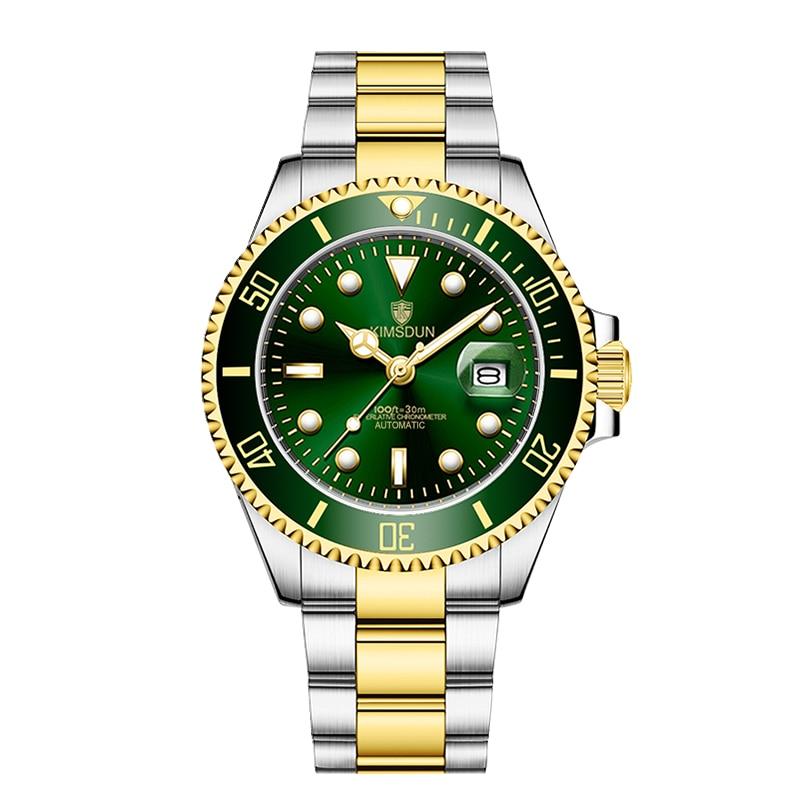 KIMSDUN Men's Watch Fashion Sports Mechanical Watch Luxury Brand Waterproof Business Watch Fully Automatic Relogio Masculino enlarge