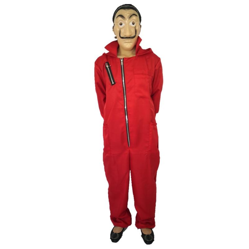 New Comedy Master La Casa De Papel Dali Mask Halloween Masquerade Salvador Dali Cosplay Funny Costumes