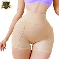women butt lifter removable padded hip enhancer shapewear xs 3xl high waist thigh slimmer seamless body shaper pad panties