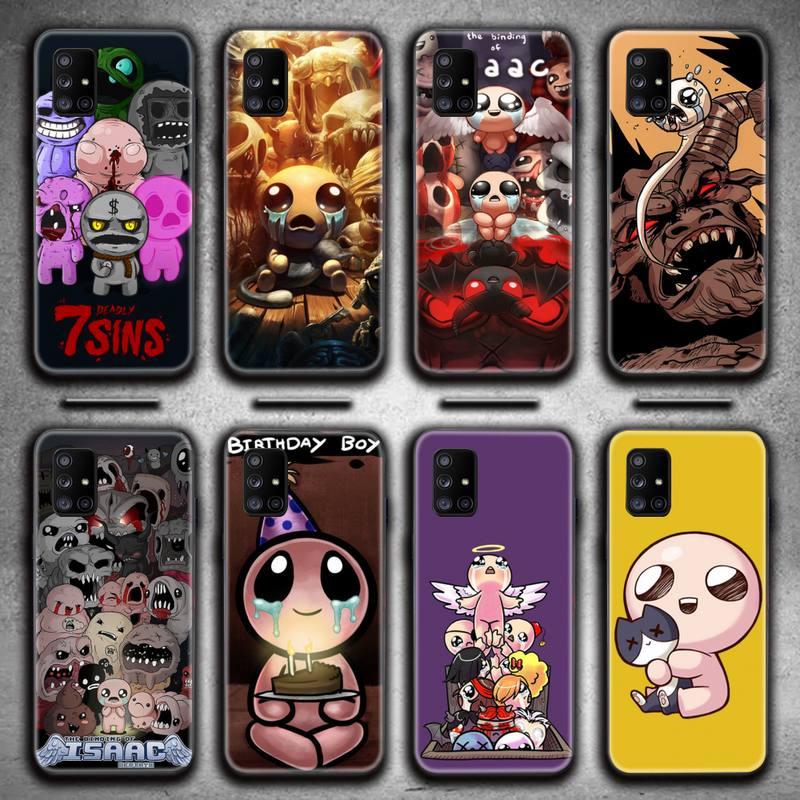 The Binding of Isaac Rebirth Game Phone Case For Samsung Galaxy A21S A01 A11 A31 A81 A10 A20E A30 A40 A50 A70 A80 A71 A51