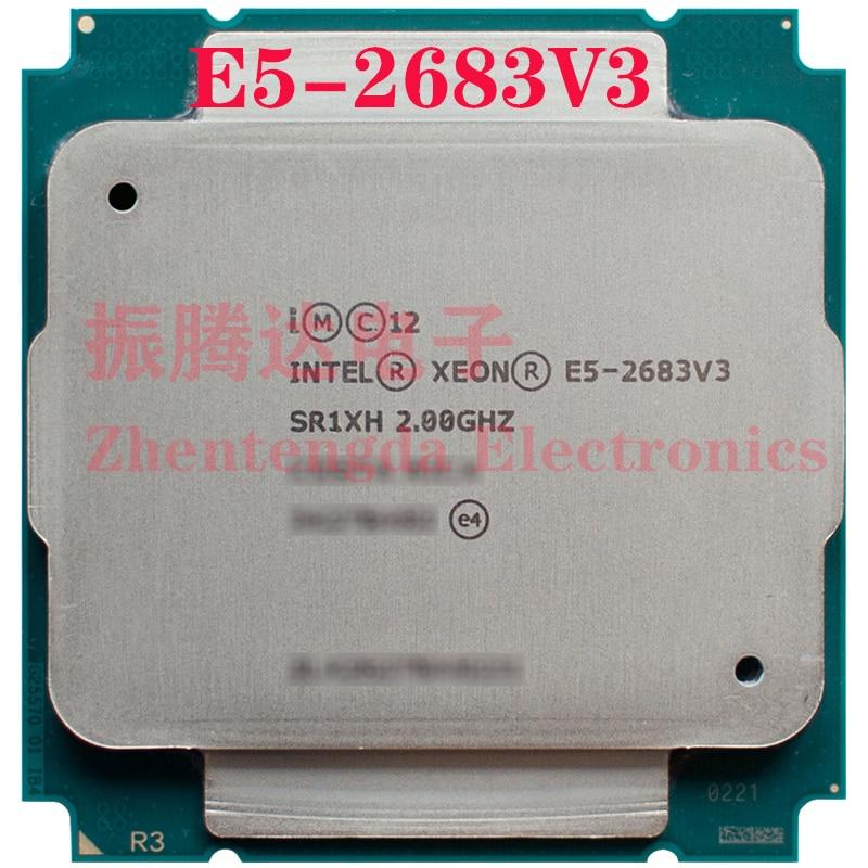 Intel Xeon E5-2683 v3 Processor 2GHz 35MB 14 Core 28 Threads LGA 2011-v3 E5-2683V3 CPU Processor