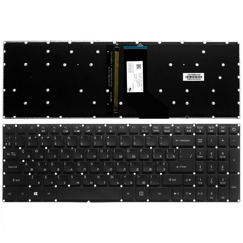 Новая русская клавиатура для Acer Aspire V17 VX15 VN7-593 VN7-793 VN7-793G RU Клавиатура для ноутбука с подсветкой