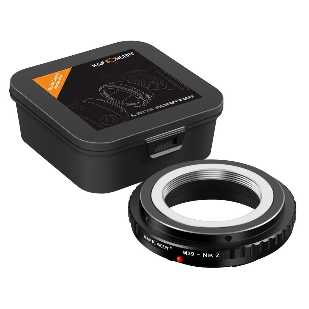 K & F مفهوم M39-Nikon Z عدسة جبل محول ل M39 جبل ينس نيكون Z جبل Z6 Z7 المرايا كاميرا