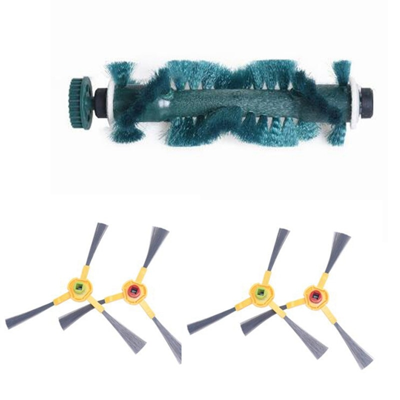Cepillo principal lateral y cepillos para Ecovacs Deebot 710, 720, 730, 760 D73 D76 D77 robótica