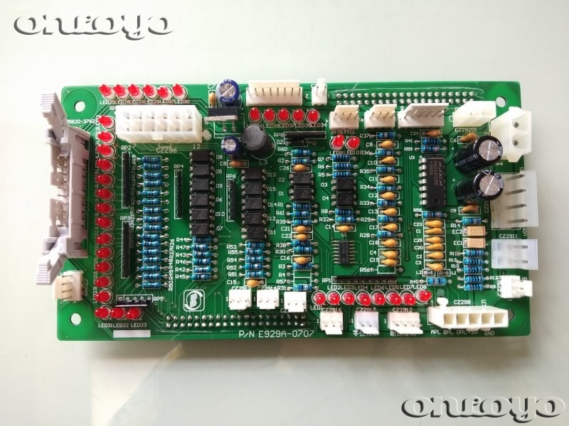 قطع غيار ماكينة تطريز, لوحة دوائر كهربائية P/N E929A E929