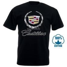 Nouveau Cadillac crête Logo Cts V Escalade hommes t-shirt S à 4Xl hommes t-shirts mode 2018 vêtements imprimés t-shirt été