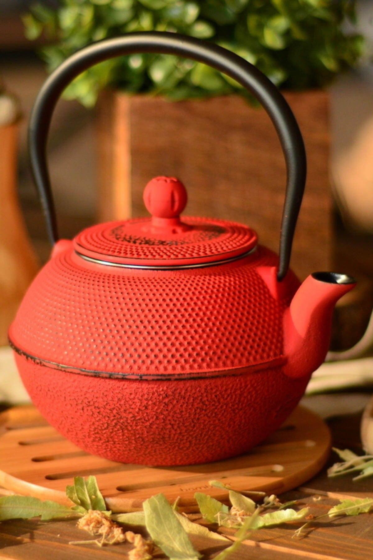 إبريق شاي ياباني من الحديد الزهر ، غلاية الشاي ، 1200 مللي ، ماء مغلي