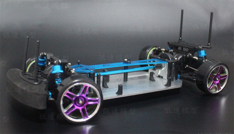 Cheapest HSP 94123 Electric Remote Control Car Drift Car 1:10 (Rtr Kit) Empty Frame Upgrade Version enlarge
