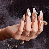 manicure ornaments wedding jewelry 3d nail art rhinestones diy nail art decorations nail jewelry pearl alloy pendant