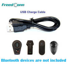 Free Shipping!! Accessories USB Charge Cable Suit for FreedConn T-COM COLO KIE O-COM Motorcycle Bluetooth Intercom