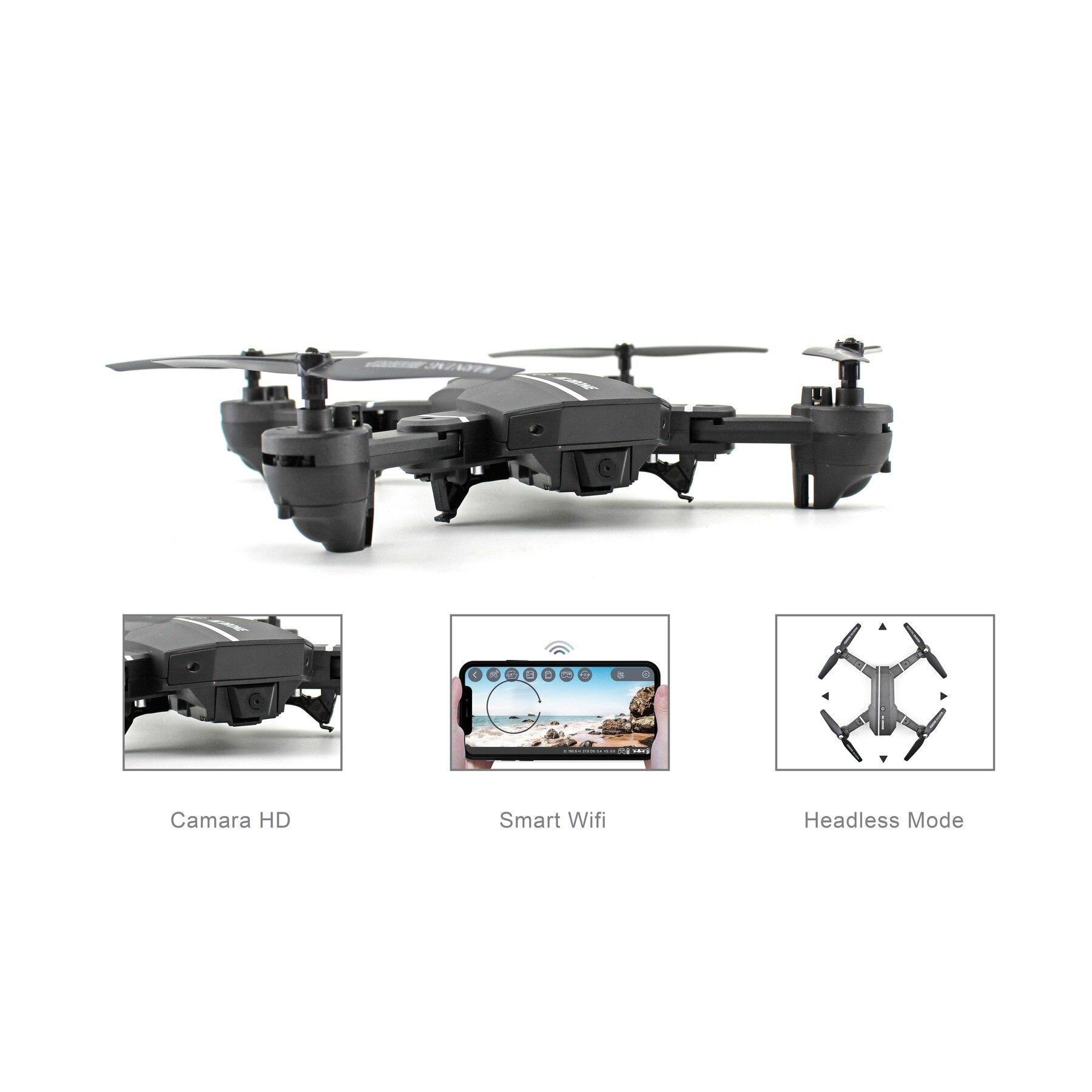 WIFI with wide angle HD 1080P camera mode high control tonearm folding RC