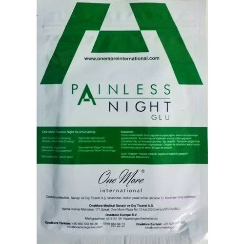 One More Painless Night Glu Item Package Intra- 25 Pcs