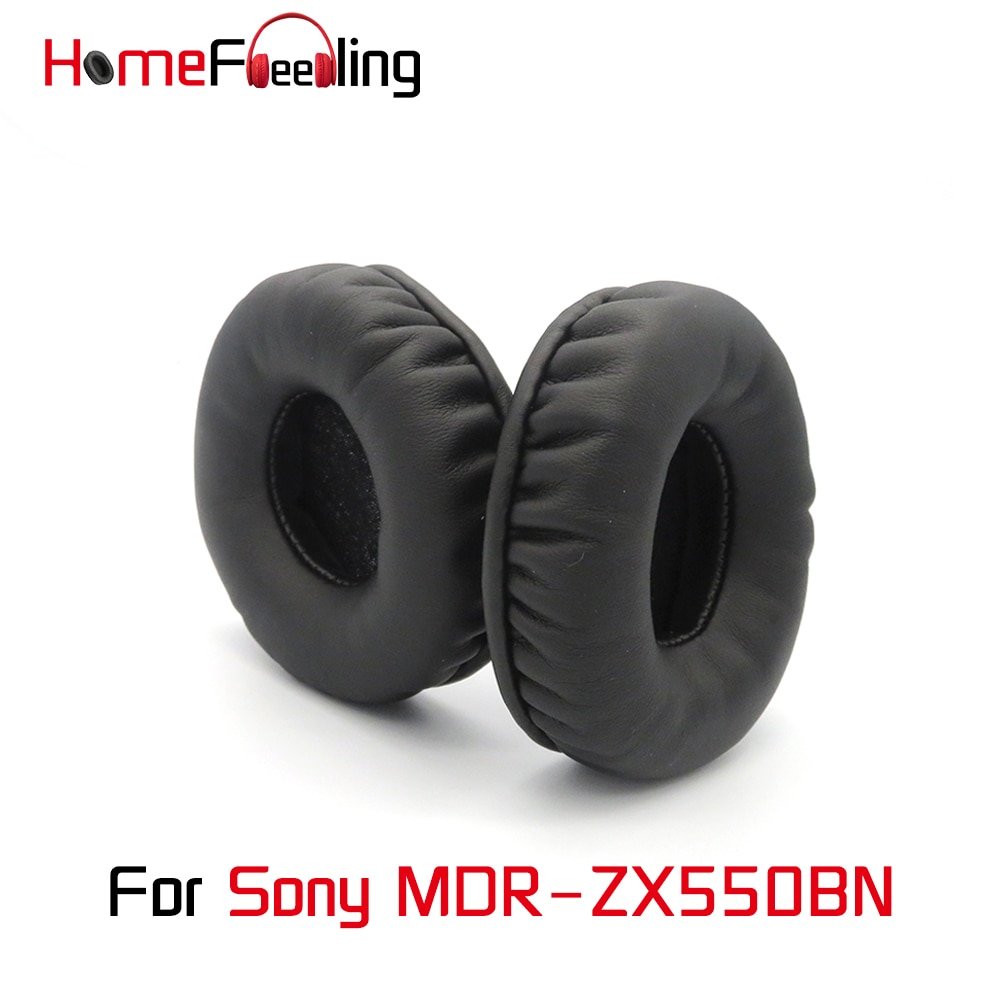 Homefeeling Ear Pads For Sony MDR ZX550BN MDR-ZX550BN Earpads Round Universal Leahter Repalcement Parts Ear Cushions homefeeling ear pads for sony mdr hw300k earpads round universal leahter repalcement parts ear cushions