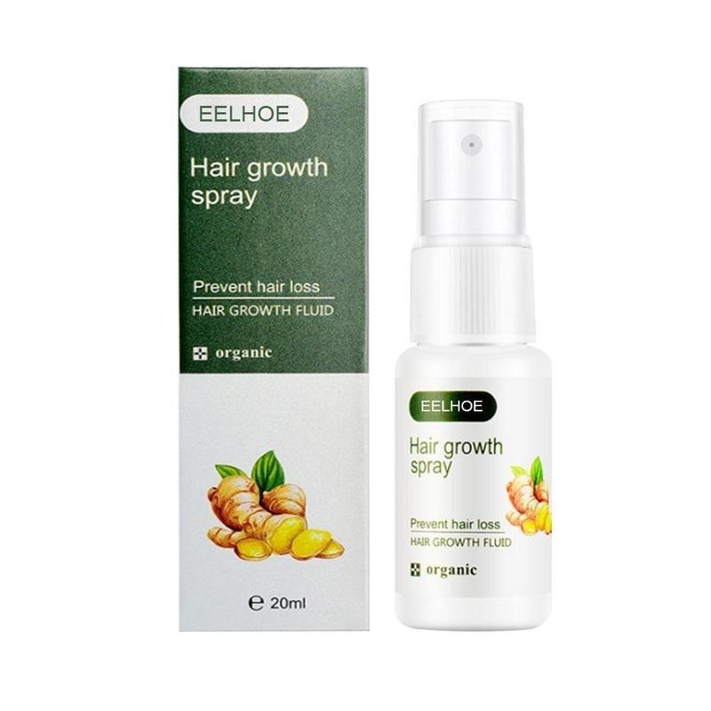 Regrowth Ginger Spray Fast Hair Growth Fluid Anti Loss Treatment Ginger Essence Prevent Hair Loss Regrowth Ginger Spray Eelhoe наволочка fred et ginger дизайн в барковски