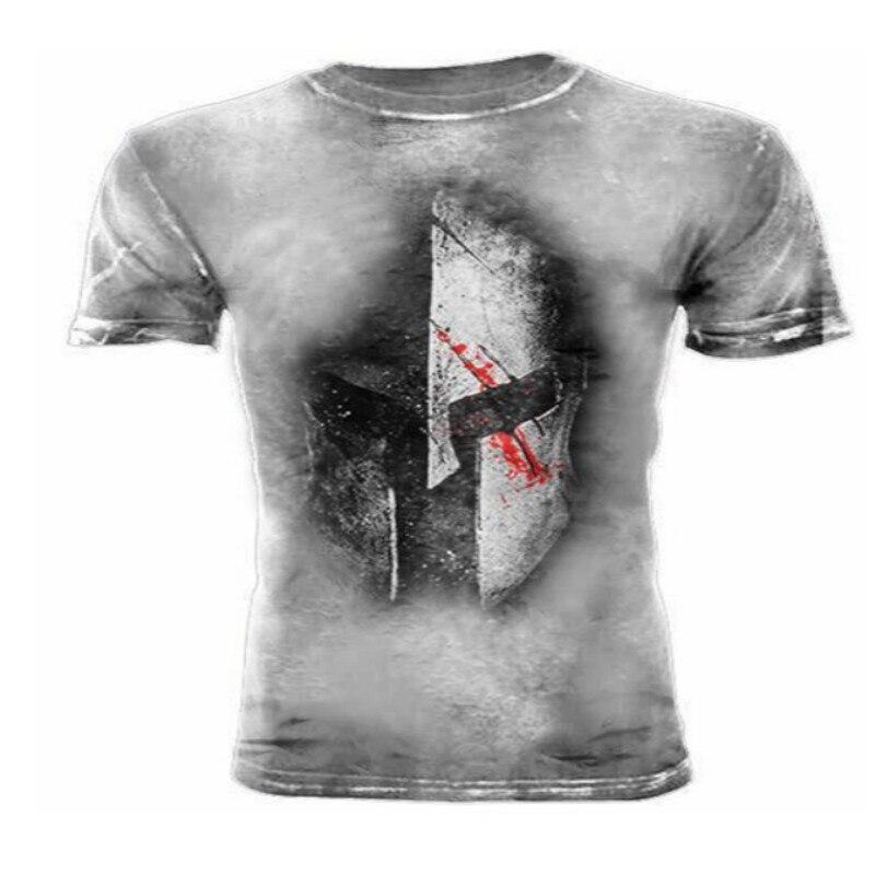 Camiseta con estampado 3D para hombre de casco americano estilo militar... ropa...