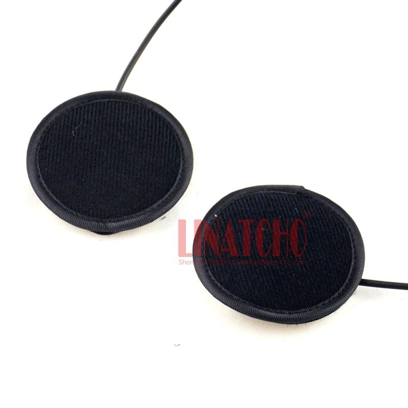 2 pins connector walkie talkie radio earmuff headset hunting radio earpiece motor helmet mic bar earphone enlarge