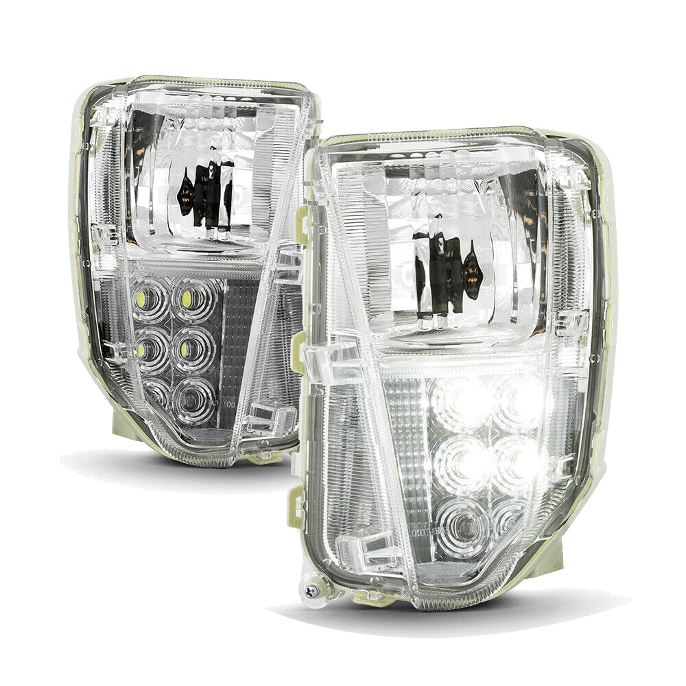 Parking Turn Signal Lights Lamps with LED for 2012-2015 Toyota Prius Left+Right 81521-47060 81521-47040