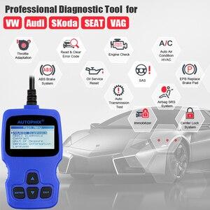 Image 2 - Автомобильный сканер Autophix V007 OBD2, автомобильный диагностический инструмент для Golf 4 // 5/6/7 T5 Polo Passat b5 b6 ABS EPB, инструмент для сброса масла