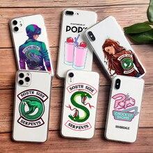Riverdale pops Southside Jughead Jones Telefon Fall Für Samsung S10 PLUS S20 S11 S9 S8 Plus A5 2017 A6 A9 2018 TPU Silikon Abdeckung
