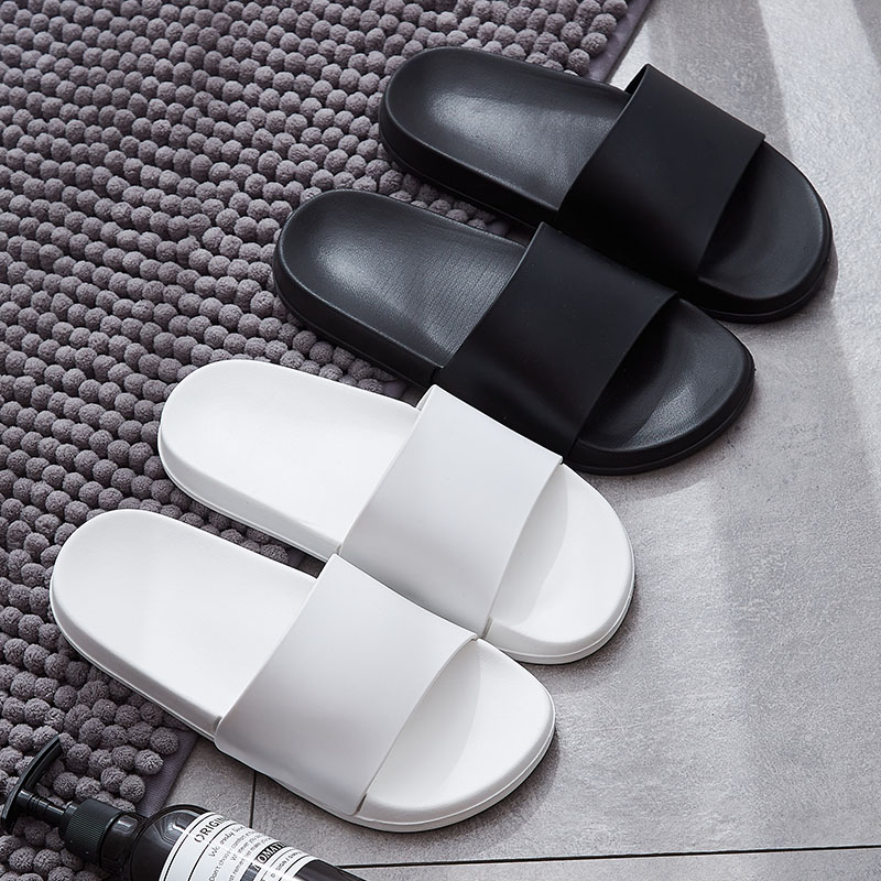 Fashion Summer Slides Women Slippers Non-Slip Flip Flops Eva Outdoor Beach Sandals Men Ladies Couple Lovers Shoes