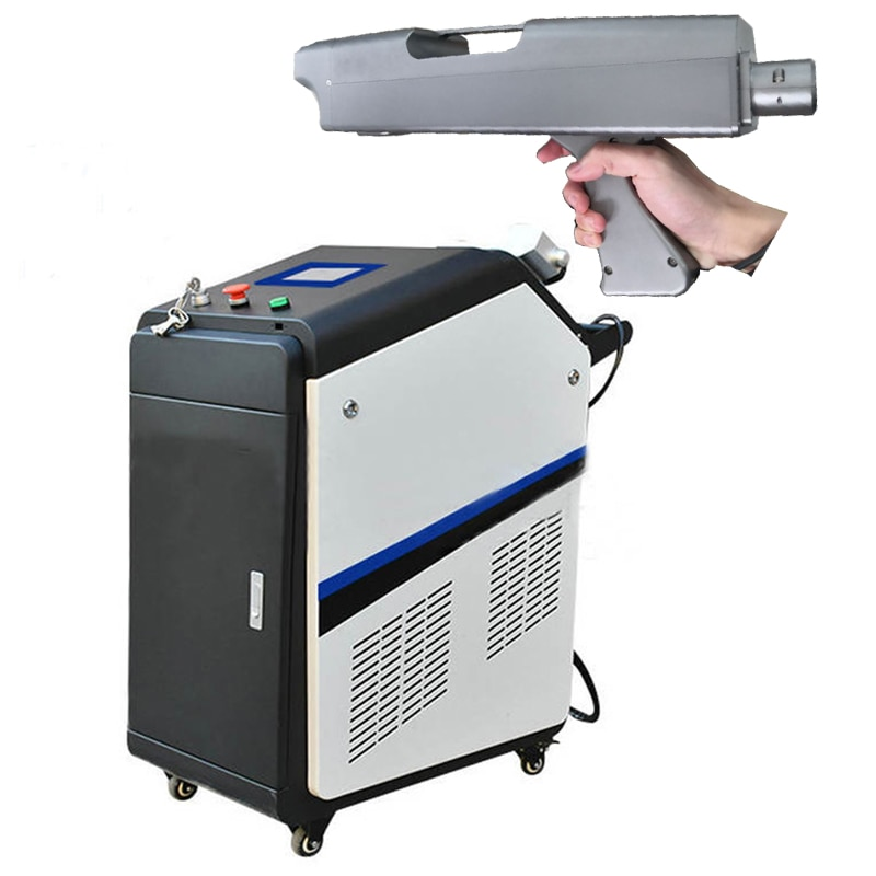 High power 100W 200W 500W laser cleaning machine IPG RAYCUS metal rust removal cleaner