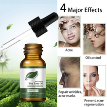 10ML Natural Tea Tree Essential Oil for Women Anti-wrinkle Acne Pores Removal Scars Face Treatment A