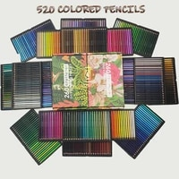 brutfuner 260520 professional color pencils drawing coloured colored pencil set coloring sketch pencil school art supplies