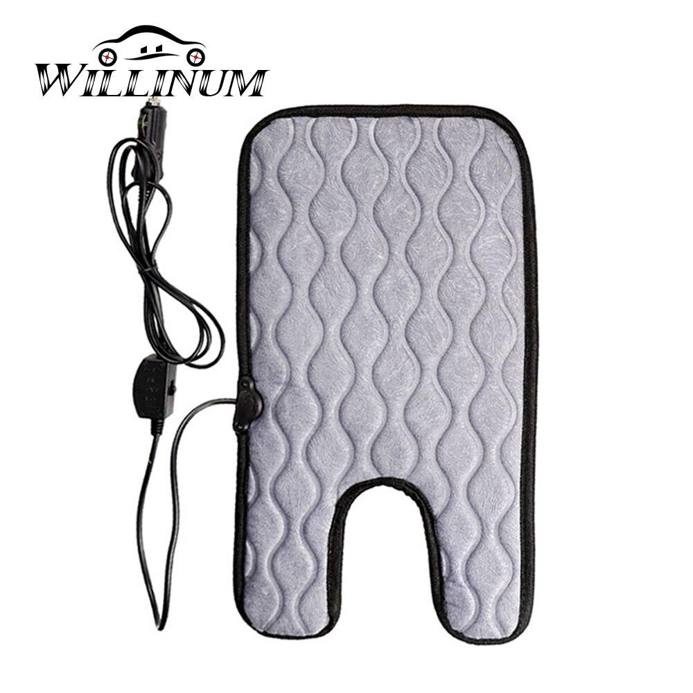 Funda de asiento de invierno para auto de bebé para Benz GLC W205 W213 calentador de asiento caliente calentador de cojín para niños 1-7 años