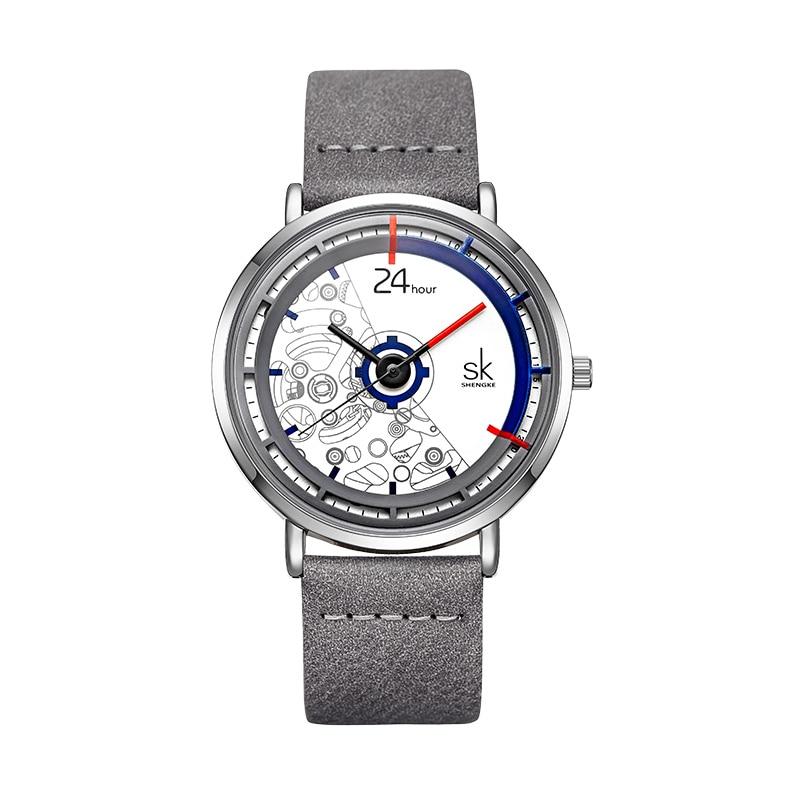 Fashion Women's Watch Luxury Leather Band Analog Quartz WristWatch Blue Leather Ladies Watch Women Dress Reloj Mujer Clock enlarge