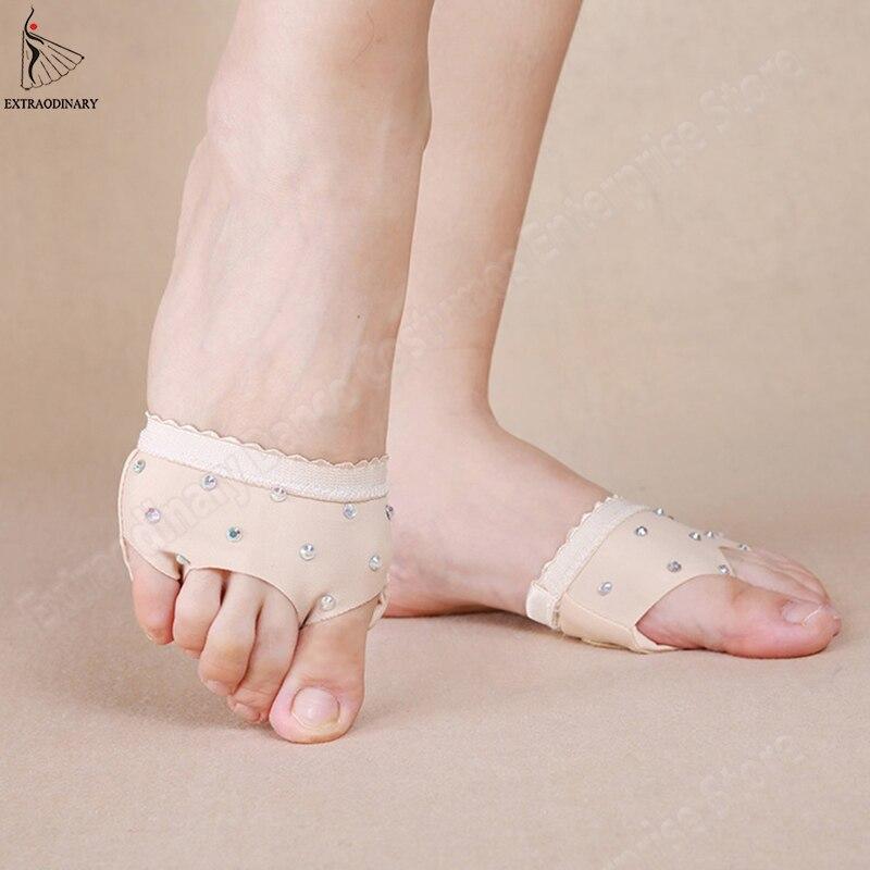 Women Practice Shoes Foot Thong Flats Belly Dance Toe Pad Flats Care Tool Flats Dance Socks