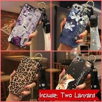 soft case for girls phone case for huawei honor v10 wristband fashion design wrist strap shockproof