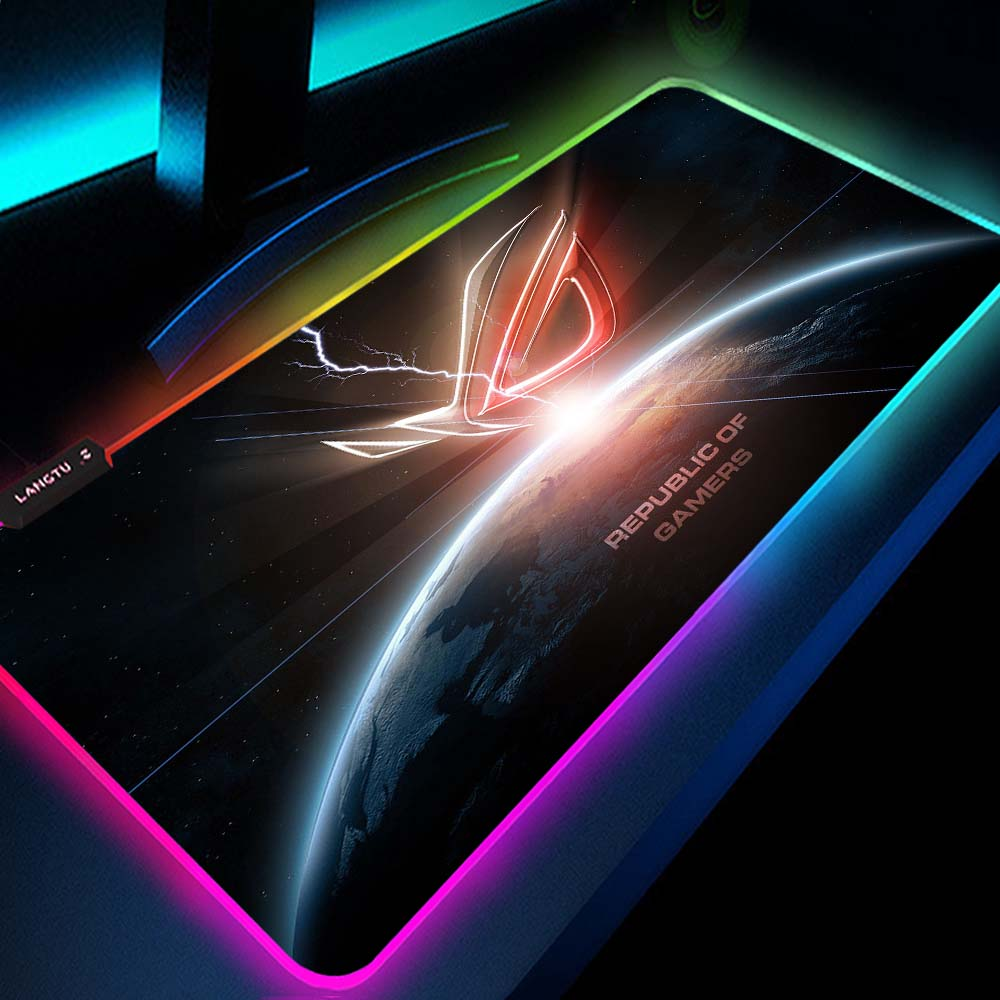 Asus Mouse Pad Rog Cool Mouse Pad Rgb Led Republic of Gamers Notbook Gamer Laptops Mousepad Backlit
