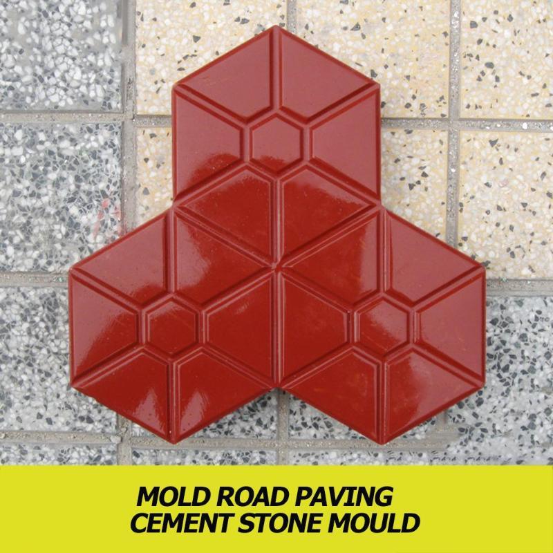 Chodnik formy DIY droga ścieżka plac do układania nawierzchni z ceglana płytka forma betonowa dla gospodarstw domowych Gardeing dziedziniec ścieżki projekt formy