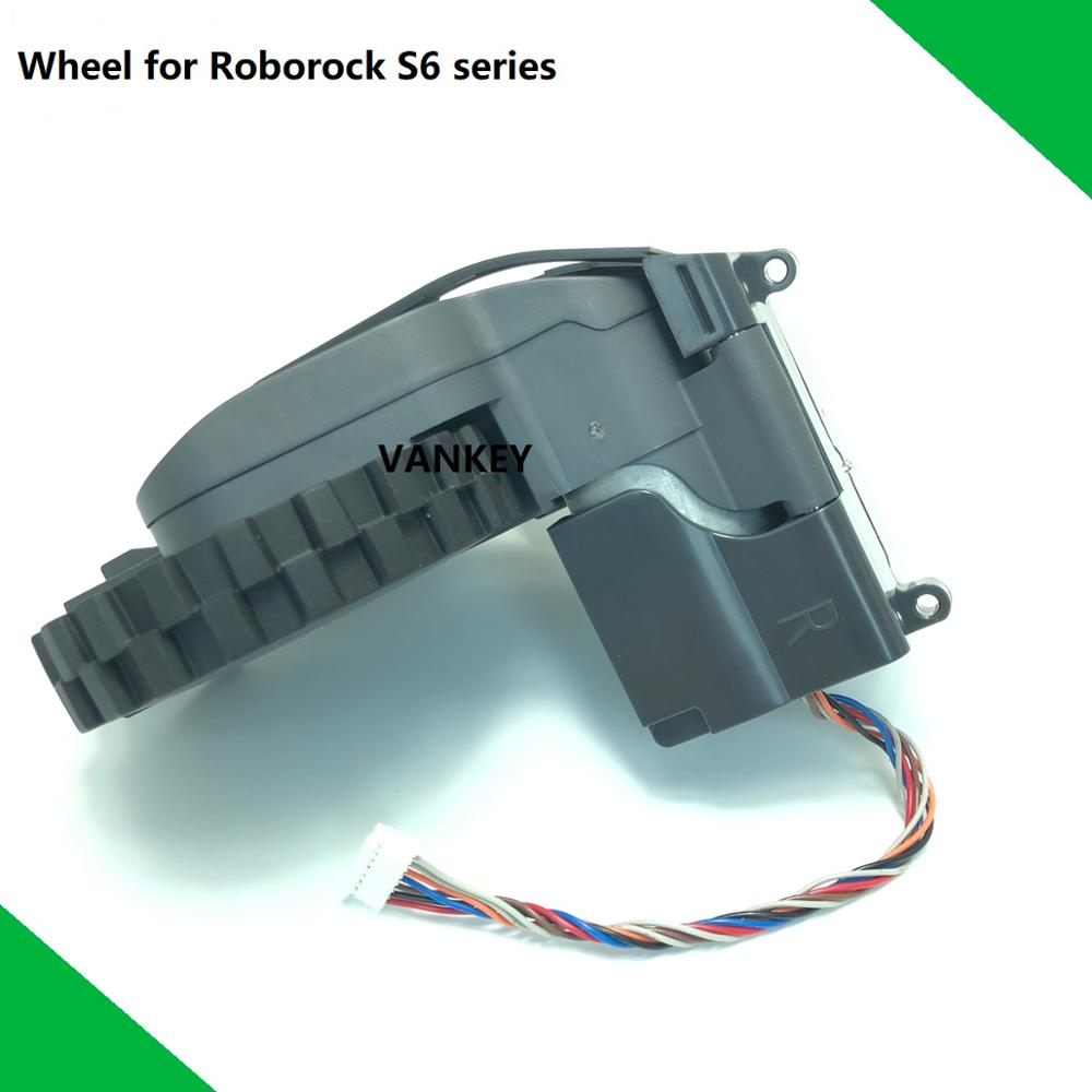 New Original Traveling Wheel Module Right and Left Spare Parts Wheel for XIAOMI Roborock S6 series