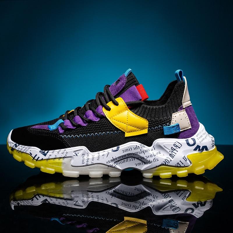 Zapatillas gruesas para correr para hombre, zapatos deportivos para hombre, zapatos deportivos...