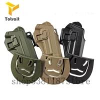 totrait tactical military holster airsoft hunting gun holster for p226 black greentan color waist airsoft gun holster