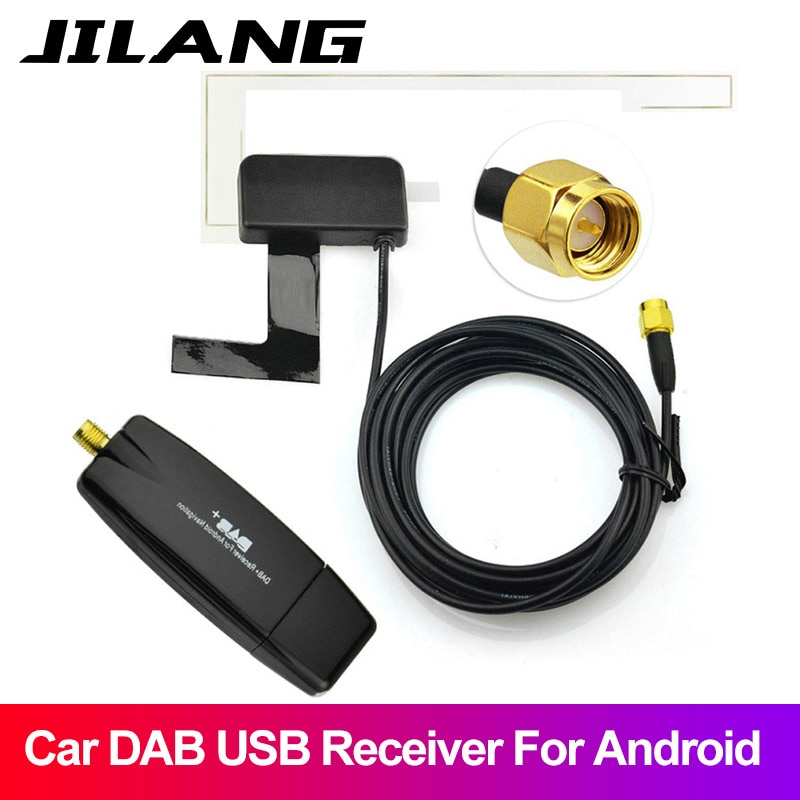 Auto DVD Player Usb DAB/DAB + Digital Radio Empfänger Audio Broadcast Luft Andrews navigation gewidmet DAB + USB 2,0 Dongle