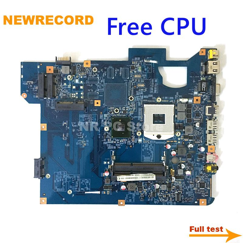 لوحة رئيسية للحاسوب المحمول من نيوسجل 48.4CH01.01M MBWHE01001 MB.WHE01.001 للبوابة NV59 TJ75 لوحة رئيسية HM55 DDR3 مجانيًا لوحدة المعالجة المركزية تُختبر بالكامل