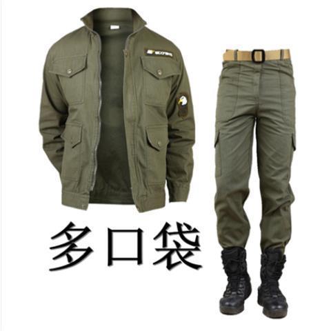 Костюм мужской армейский зеленый, унифицированная одежда в стиле милитари, рабочая одежда для отдыха на открытом воздухе, кемпинга, альпини...