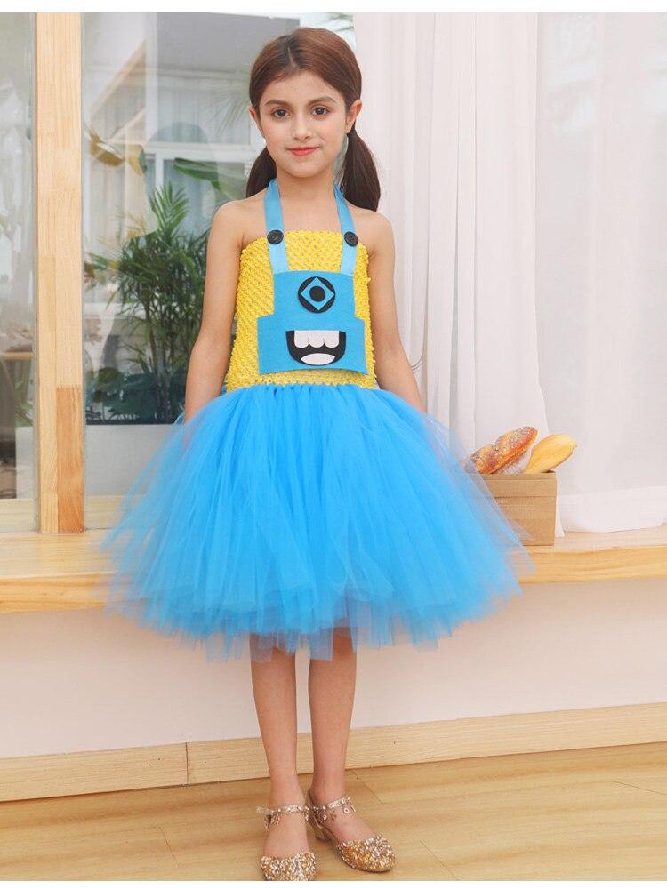 ملابس للبنات أزياء تنورة مهرجان فساتين للأطفال حفلة هالوين توتو Espanol أداء حزام شبكة OHENG M150
